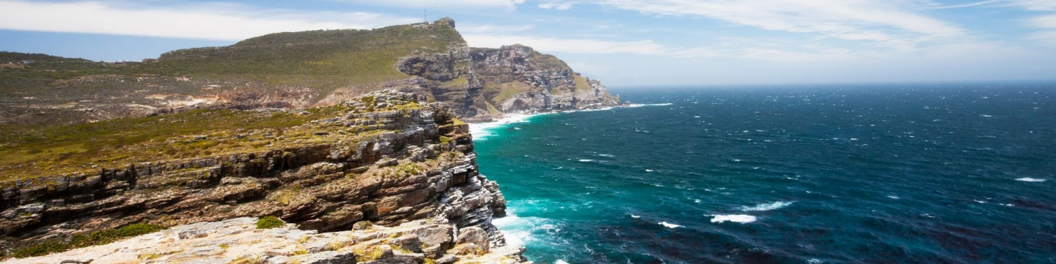 South Africa, coastline, cliff