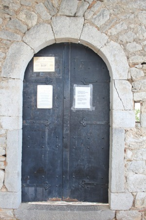 Steep price: After climbing a reputed 999 steps, the writer found a note on the door of  Palamidi Fortress stating that ...