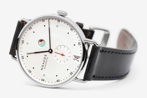<b>THE ARTIST (IP)<br> Your watch:</b> NOMOS Glashütte Metro<br> Artists, you know who you are. Creative, obsessed with ...