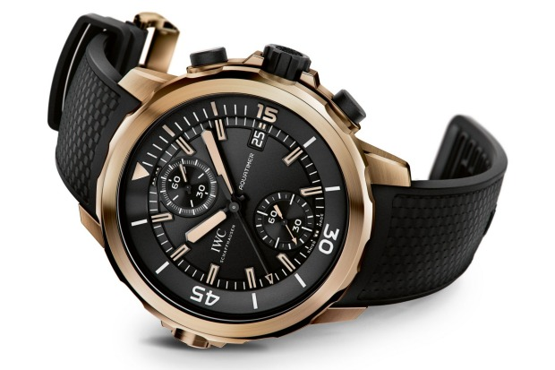 <b>THE INSPIRER (Myers-Briggs type: ENFP)<br> Your watch:</b> IWC Aquatimer Chronograph Edition Expedition Charles ...