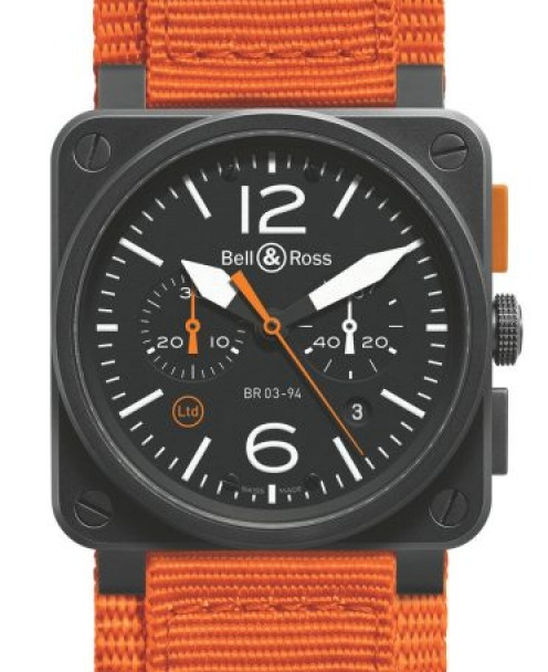 <b>THE PERFORMER (ESFP)<br> Your watch:</b> Bell & Ross BR03-94 Carbon Orange<br>  Ahhh, performers. You're fun-loving ...