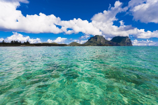 Just under two hours from Sydney: Lord Howe Island.
