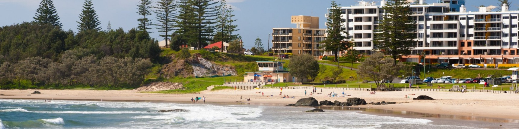 Port Macquarie, beach, coastline
