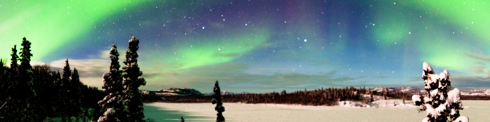 North America Alaska Northern lights
