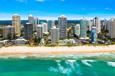 M3565 sits on Main Beach, a popular stretch of real estate on the Gold Coast.