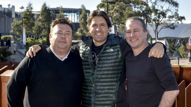 Peter Gilmore, Ben Shewry and Neil Perry.