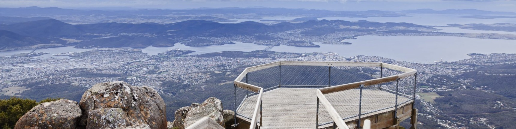 Hobart, Mount Cook view