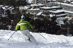 Thredbo Village, skiing, snow