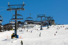 Perisher Valley, NSW, skiing, snow