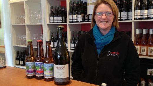 Drinkable: Rebecca Duffy of Holm Oak Vineyards says cider suits the Australian climate and palate.