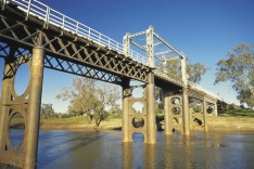 Bourke, North Bourke Bridge, NSW