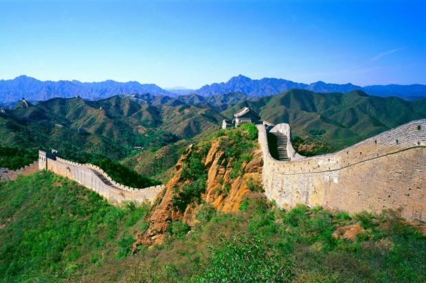 """4. Great Wall of China: """"A few rugged souls trek the entire length of the wall, but even if you pick just one section, ..."""