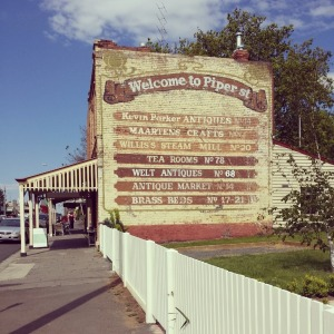Artisan mecca: Kyneton's growing collection of arty and quirky shops (as well as the good food) that draw visitors to ...