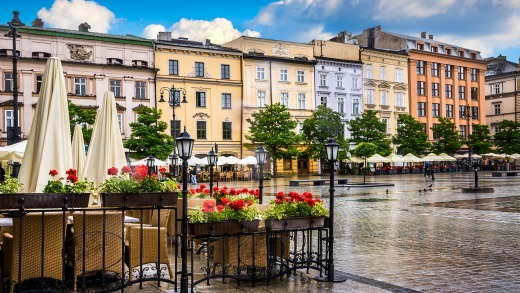 The average bottle of beer will cost travellers around $A2.19 in Krakow, Poland.