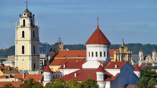 Vilnius's tourism campaign comes just before Pope Francis is due to visit the city.