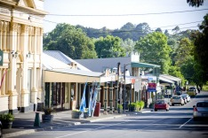 Woodend main street