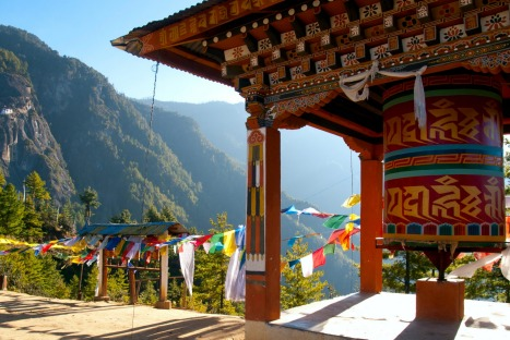 Bhutan, mountains