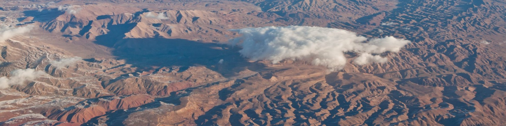 Afghanistan, mountains, aerial shot