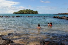 French Guiana, coast, swim