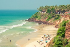 Goa, India, beach, coastline