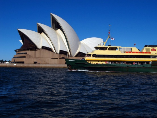 MANLY FERRY, SYDNEY: Possibly the world's best commute, the 30-minute cruise between Circular Quay and Manly is the ...