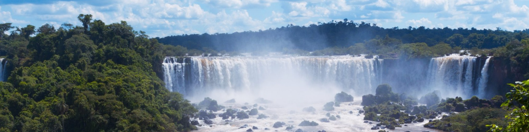 Paraguay, waterfall