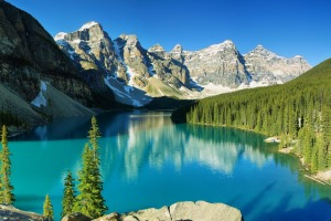 Instead of Yellowstone, try Banff.