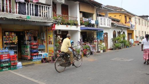 European settlement: Galle's 17th century streets are heavy with Dutch and British influence.