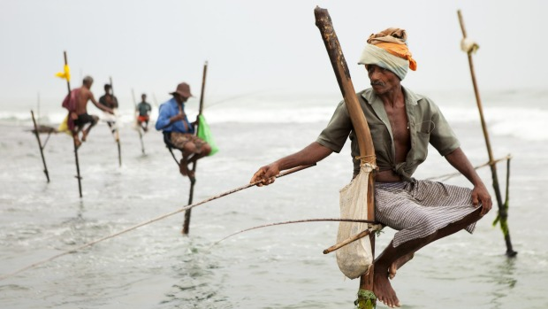 Cultural mosaic: At its heart Sri Lanka's essence is captured best in the multitude of spices and stilt fishing that are ...