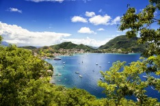 Guadeloupe archipelago. French Reuplic. Caribbean Islands