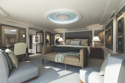 Oceania Cruises' Marina and Riviera: Owners' Suites