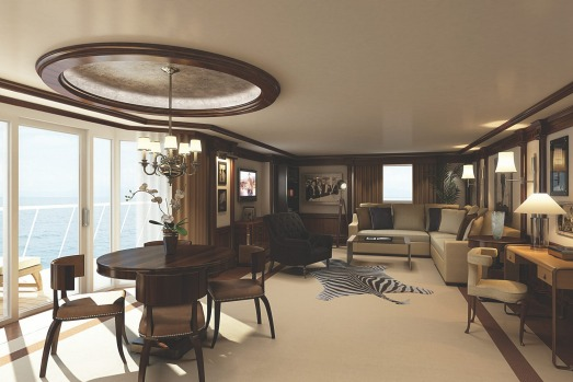 Oceania Cruises' Marina and Riviera: Owners' Suites.