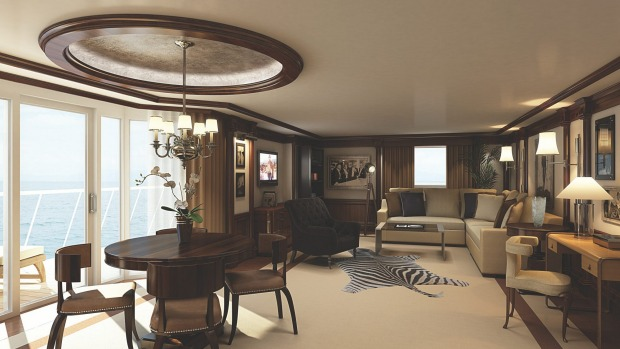 Oceania Cruises Marina and Riviera: Owners Suites.