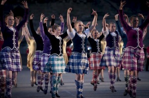 Enjoy the Royal Edinburgh Military Tattoo.