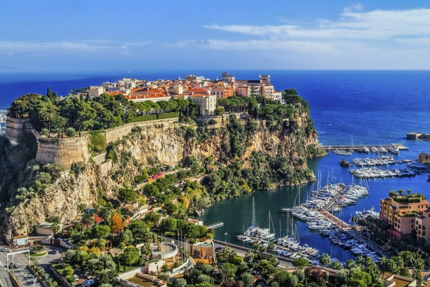 Monaco (2.2 square km. Population: 36,000). Packing as much glamour and glitz as it can into two square kilometres.