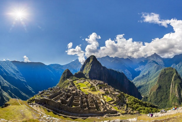 """3. Machu Picchu, Peru: """"No-one really knows what happened here. Wander wide-eyed around the mysterious mountain ..."""