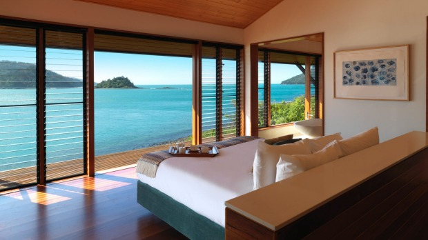 Qualia. The Windward Pavilions have private plunge pools and glittering sea views.