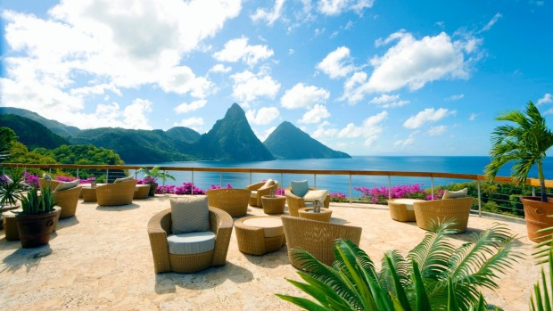 Jade Mountain, St Lucia. There's nothing understated about this Caribbean retreat, from the maze of walkways to the ...