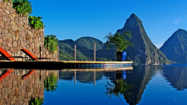 Jade Mountain, St Lucia. Nothing is understated at this Caribbean retreat, from the maze of walkways to the high-impact ...