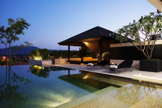 The Pavilions, Phuket. Each of the private villas covers around 300 square metres and comes with its own infinity pool; ...