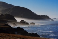 The Big Sur coastline.