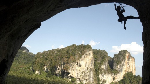 For the best view of the Andaman Sea, climb one of Krabi's spectacular limestone cliffs.