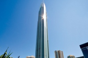 Not for those scared of heights: Q1 Tower, Surfers Paradise.