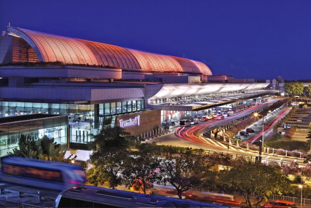 Terminal 1 at Singapore Changi International Airport.