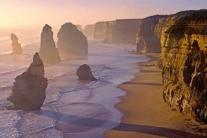 Sunset at the Twelve Apostles, Great Ocean Road.