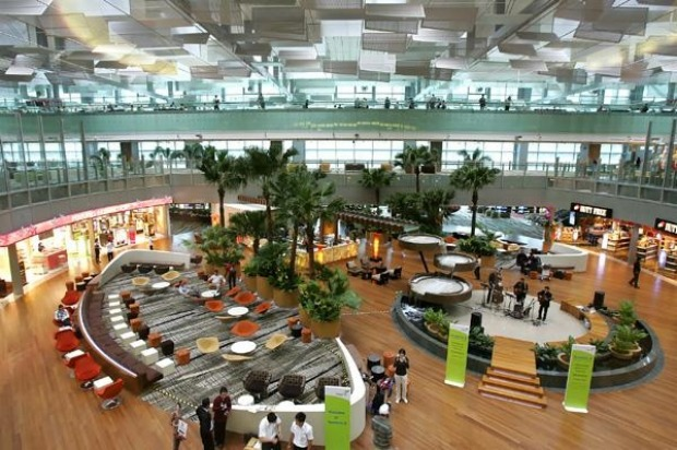 Terminal 3 at Changi Airport is home to more than 140 retail and food outlets, from hamburgers to high fashion.