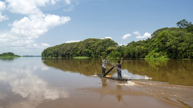 9. The Congo, Africa. A cruise down the Congo is best seen in combination with a stay in safari-style lodges and villas.