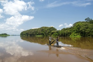 9. The Congo River. It is best seen in combination with a stay in safari-style lodges and villas.