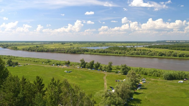 7. The Ob-Irtysh, Russia. This river flows across western Siberia in a zigzagging diagonal from its source in the Altai ...