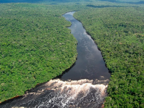 2. Amazon, South America. The Amazon is the largest river in the world by volume. It holds one fifth of the worlds fresh ...
